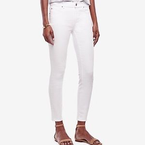 Ann Taylor Skinny Ankle Modern Fit Jeans